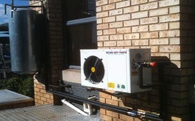 Domestic Geyser Heat Pumps