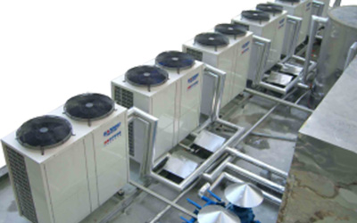 Commercial / Industrial Rooftop Heat Pump Units