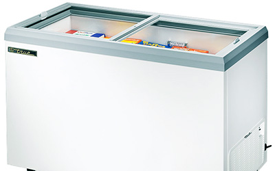 Commercial Sliding Top Freezer